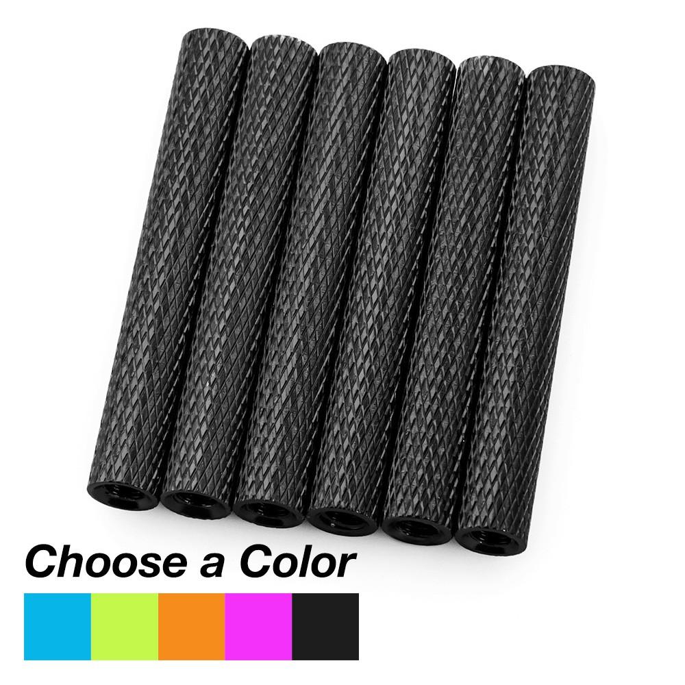 35mm Aluminum Textured Spacers (Set of 6)