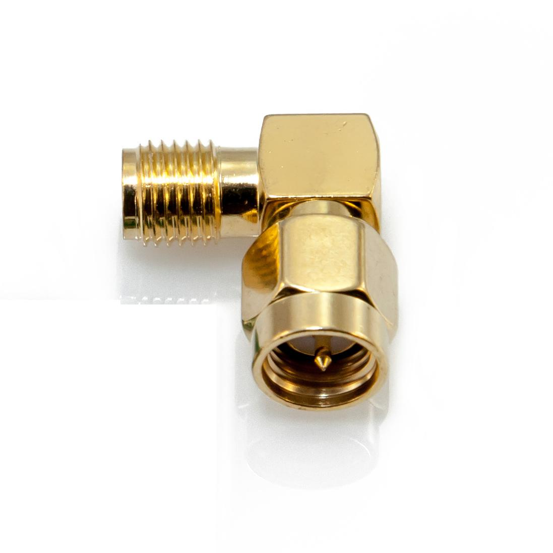 90 degree male to female sma connector. Black Bedroom Furniture Sets. Home Design Ideas