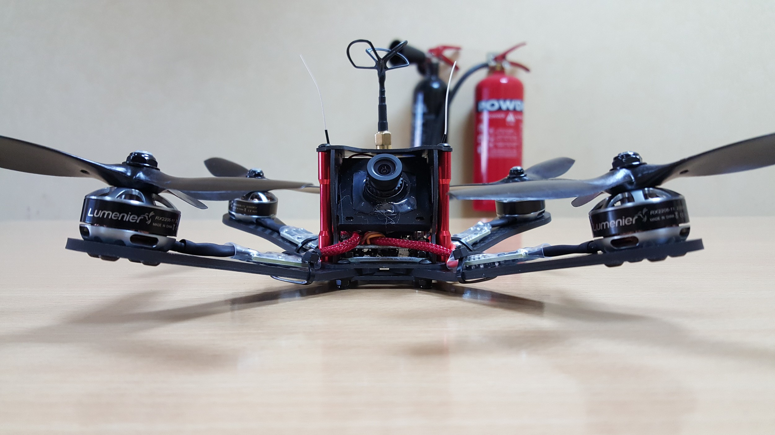 fury carbon fiber quadcopter frame 5