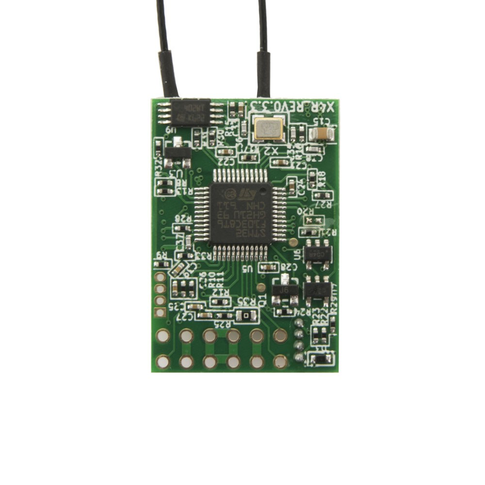 FrSky X4R-SB - 3/16 Channel Receiver with SBUS and CPPM without pins