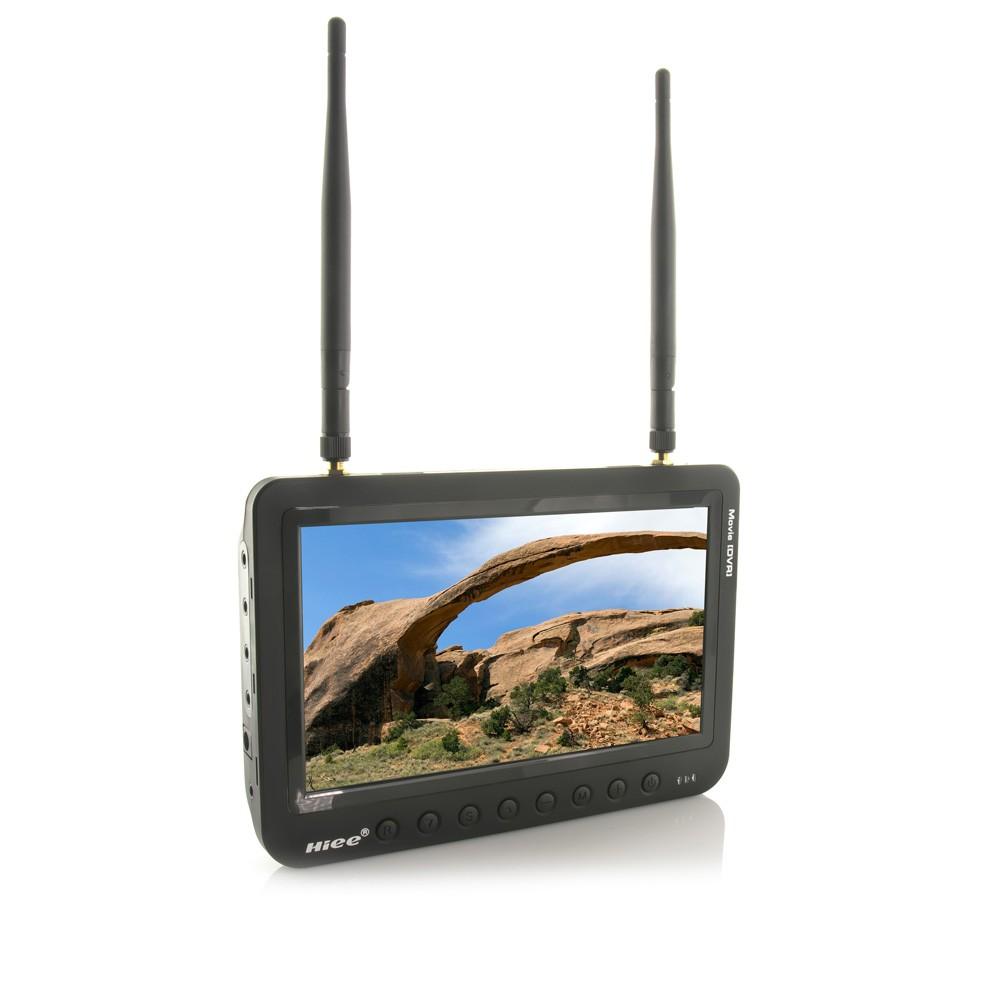 HIEE 7'' 5.8G 40CH FPV Diversity Monitor w/ DVR