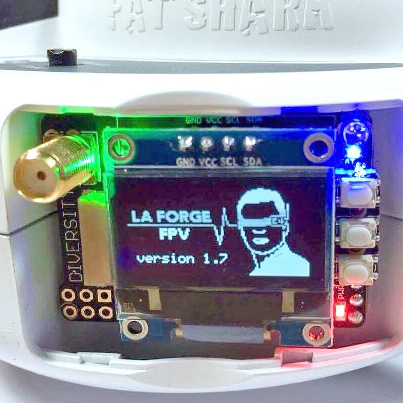 LaForge V2 Fat Shark Module