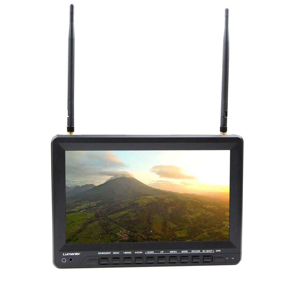 Diverse Battery Monitor : Quot lumenier slim lcd fpv monitor with ghz ch