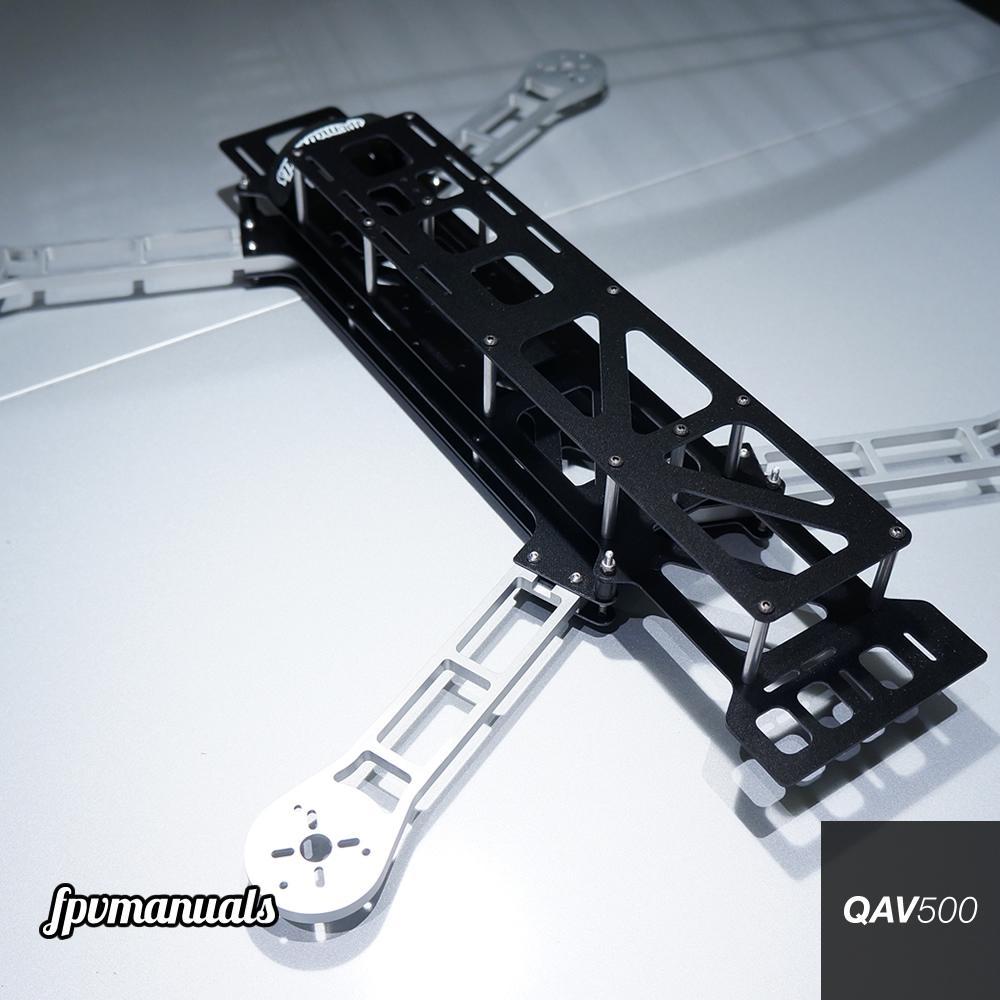 Aluminum: Aluminum Quadcopter Frame