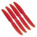 Gemfan 5x3 Propeller - 2 Blade (Set of 4 - Red)