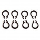 Replacement C-Clips - For 5mm Shafts (10pcs)
