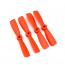 DAL 4x4.5 Bullnose Propeller (Set of 4 - Orange)