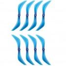 "DYS XT7543 7.5"" Blue Propeller (Set of 8)"