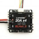 Lumenier BLHeli_S 20A 4-in-1 BEC 5V 1.5A ESC DSHOT