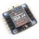 Lumenier BLHeli_S 30A 4-in-1 OPTO DSHOT ESC +Current Sensor