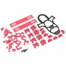 Vortex Plastic Crash Kit - Hot Pink
