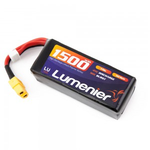 Lumenier 1500mAh 4s 45c Lipo Battery