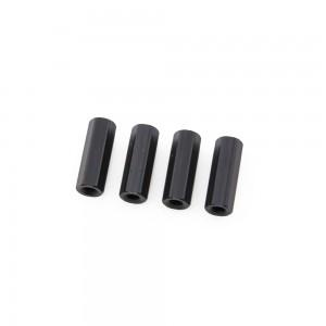 Black Hex Standoffs 10mm (4 pcs)