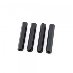 Black Hex Standoffs 20mm (4 pcs)