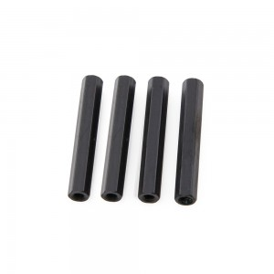 Black Hex Standoffs 25mm (4 pcs)