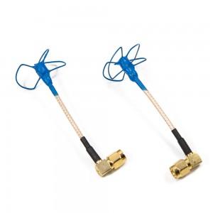 IBCrazy 5.8GHz BluBeam whip Antenna / 90 degree SMA