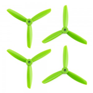 DAL 4x4.5 - 3 Blade Propellers -  (Set of 4 - Green)