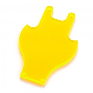 Tricopter Flight Controller Cover, Yellow