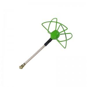 FuriousFPV STUBBY 37mm 5.8Ghz U.FL RHCP Circular Antenna (Green)