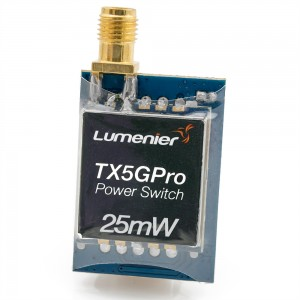 Lumenier TX5GPro Mini 25mW 5.8GHz FPV Transmitter with Power Switch