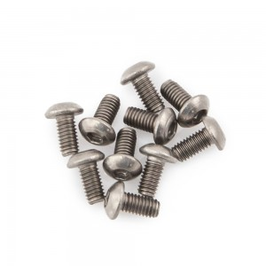 M3x6 Button Head Titanium Screws (10pcs)