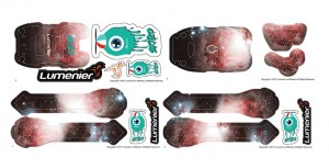 QAV-SKITZO Dark Matter Sticker Set - Orion