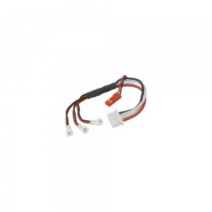 Rakon Heli Charging Cable for 3pcs Blade Nano CP S/QX/Inductrix Battery