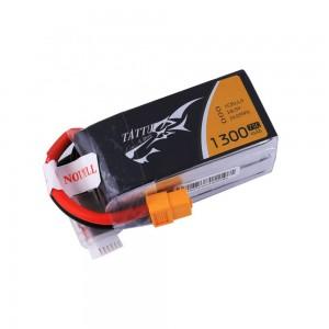 TATTU 1300mAh 5S1P 75C 18.5V Lipo Battery Pack with XT60 plug