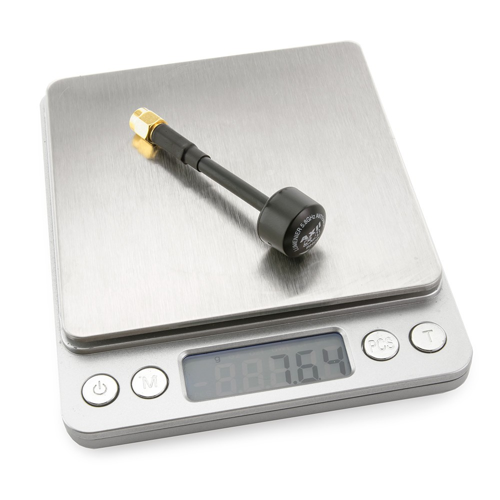 Incredibly light weight, under 8g!