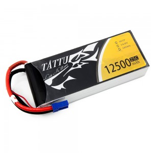 TATTU 12500mAh 4s 25c Lipo Battery