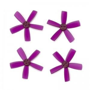 "DYS 2"" 5 Blade, Purple Propeller - Set of 4 (2x CW, 2x CCW)"