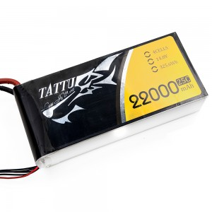 TATTU 22000mAh 4s 25c Lipo Battery