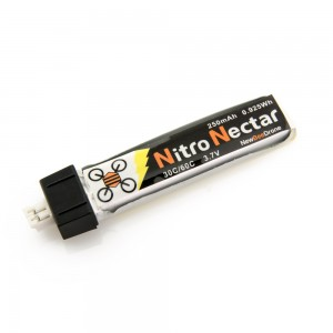 NewBeeDrone Nitro Nectar 250mAh 1s 30c Lipo Battery