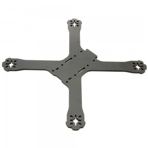 "QAV-X Carbon Fiber Main ""Unibody"" Frame Plate (3mm)"