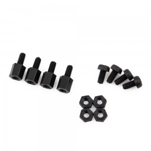 Black Polyamide Standoff Set (6mm)