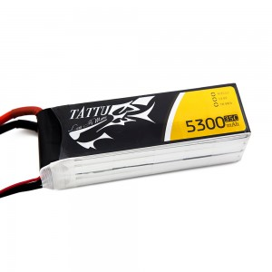 TATTU 5300mAh 4s 35c Lipo Battery