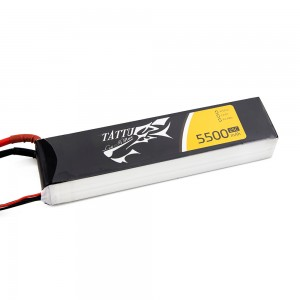 TATTU 5500mAh 4s 25c Lipo Battery