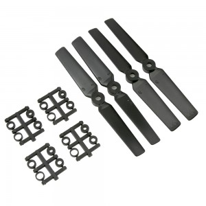 Gemfan 5x3 3D Glass Fiber Propeller (Set of 4 - Black)