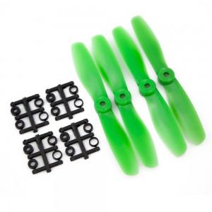 Gemfan 5x4.5 Bullnose Propeller - Nylon Glass Fiber (Set of 4 - Green)