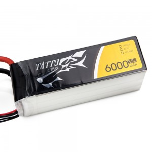 TATTU 6000mAh 6s 35c Lipo Battery