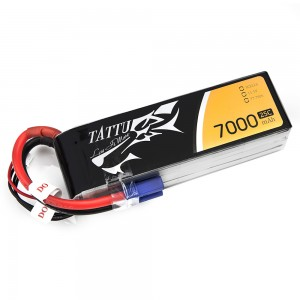 TATTU 7000mAh 3s 25c Lipo Battery
