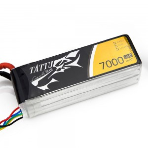 TATTU 7000mAh 4s 25c Lipo Battery