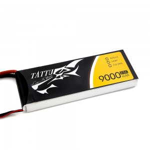 TATTU 9000mAh 4s 25c Lipo Battery