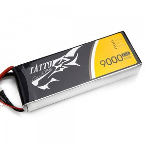 TATTU 9000mAh 6s 25c Lipo Battery