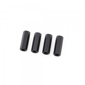 Black Hex Standoffs 10mm (4 pcs)