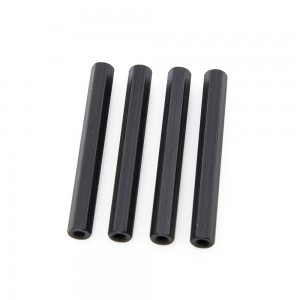 Black Hex Standoffs 35mm (4 pcs)