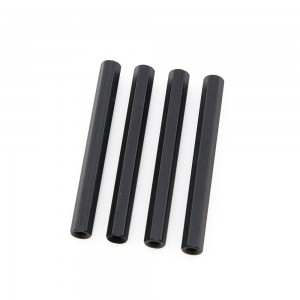 Black Hex Standoffs 40mm (4 pcs)