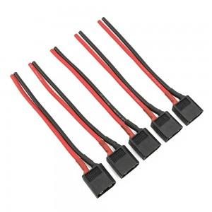 Black XT60 Lipo Pigtail 16AWG (5pcs)