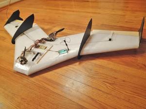 Chimera Flying Wing - Pro Kit (GoPro Housing, Linkages)