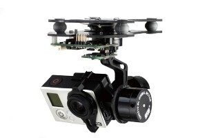 DYS 3-Axis SMART Gopro Brushless Gimbal